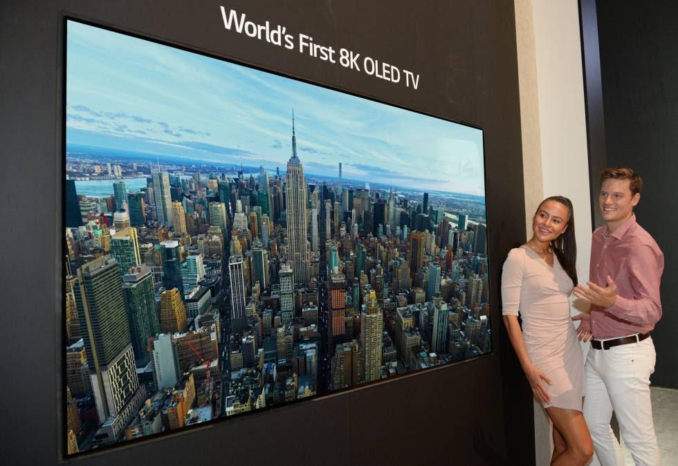 Televisor OLED 8K