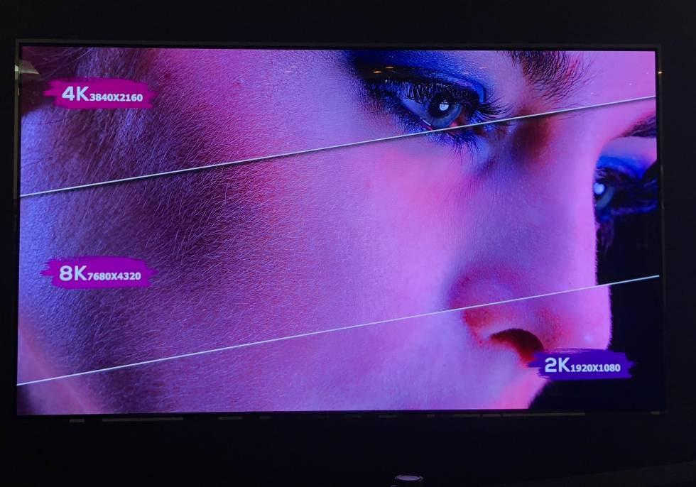 Así es el primer televisor OLED 8K